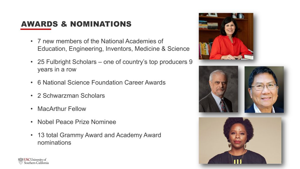 Slide: Awards and Nominations